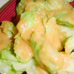 Famous Japanese ginger salad dressing.