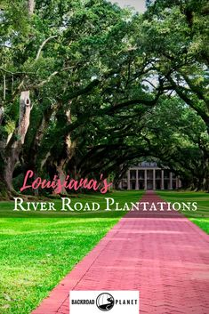 Take a scenic drive along the Mississippi River, and visit Louisiana's historical River Road plantations. Maps, itinerary, and helpful links included. #travel #TBIN #OnlyLouisiana #FeedYourSoul #Louisiana #Plantations #RiverRoad