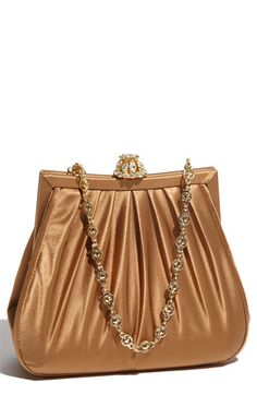 Bronze Silk Clutch