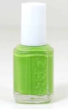 Essie Nail Polish The More The Merrier #1027 Bright Chartreuse Lime Green Polish #Essie