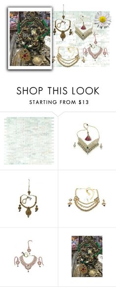 """""""Designer Boho Fashion Necklace"""" by era-chandok ❤ liked on Polyvore"""