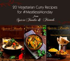 #Curry is always a great idea for #MeatlessMonday. Check out the roundup to plan tomorrow's meatless meals. Enjoy! #vegetarian