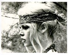 headbands a la Bardot