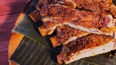 It's time to slow down with ribs slow-cooked in banana leaves. They're marinated and cooked for hours in a earthy, spicy, citrus blend. Bonus: tequila is involved.