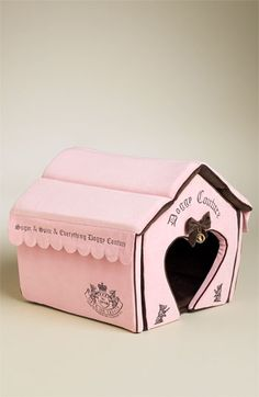Juicy Couture 'Princess' Dog House available at #Nordstrom