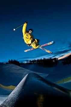 Catching Air at @Keystone Resort #air #photography #snow #winter #ski #skiing SkiMag.com