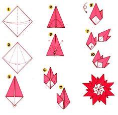 Origami of Sun
