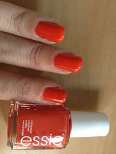 Essie - meet me at sunset - perfect for summer   I am not a girl