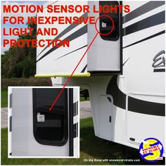 Motion detection lighting makes the RV lifestyle safer and more fun Led Stick, Best Outdoor Lighting, Best Wifi, Wifi Antenna, Motion Detector, Rv Camping, Glamping, Creature Comforts, Rv Life