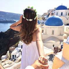 When in Santorini  | ✈️TRAVEL is the only thing you buy, that makes you richer   #greece #santorini #snaptatstravels http://snaptattoos.com/