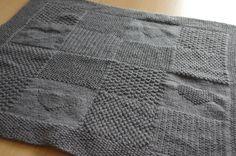 tricoter un plaid pour bebe tricot enfant pinterest b b tricot et crochet et recherche. Black Bedroom Furniture Sets. Home Design Ideas