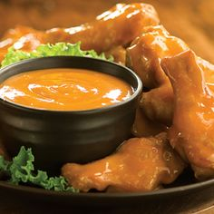 Sweet and Saucy chicken wings - almost as good as Italian Affair! #wings #drumsticks