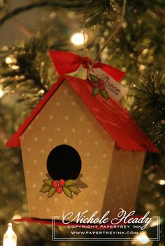 Peaceful birdhouse tutorial - bjl