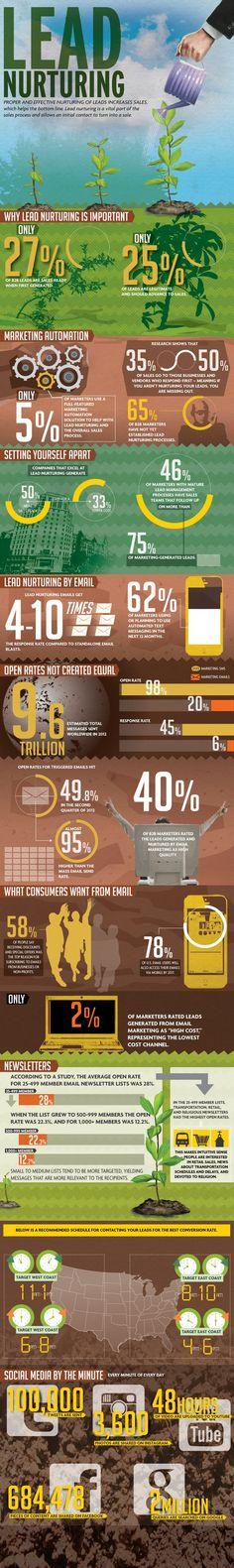 Lead Nurturing: An Infographic | Active Internet Marketing