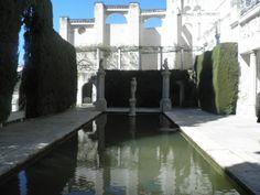 Patio de Venus en la Fundación Rodriguez Acosta. Un lugar de Granada que hay que visitar.