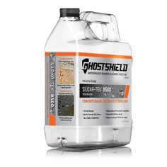 Ghostshield 1 gal. Invisible Penetrating Water Based Concrete and Masonry Sealer Plus Water and Salt Repellent-8500 - The Home Depot