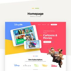 Website concept designed for popular on demand & on the go video service. Playful and colorful experiment how one such service could look like.Sharing is caring so I am sharing this website concept design to everyone that wants it as Free PSD.Grab it …