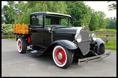 1931 Ford Model A Stake Bed Pickup 350 CI, Vintage Air