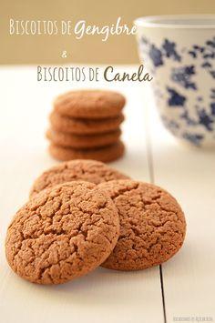Bocadinhos de Açúcar: Biscoitos de Gengibre e Biscoitos de Canela