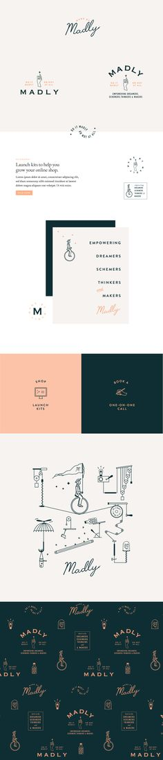 """Check out this @Behance project: """"Madly Branding"""" https://www.behance.net/gallery/62846293/Madly-Branding"""