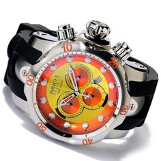 Invicta Reserve Men's Venom Puppy Edition Swiss Quartz Chronograph Polyurethane Invicta. $349.99. Luminous Hands and Hour Markers. Swiss Quartz Movement. Flame Fusion Crystal. Water Resistant up to 1000m. Date Display. Save 78%!