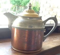 Antique c.1890-1907 Copper Pewter and Brass by BuyfromGroovy