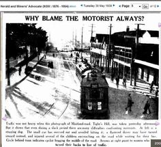 An 1934 article 'Why Blame the Motorist always?' about the threat that pedestrian are to motoriest. Interesting historical perspective on how roads stop being spaces for pedestrians.