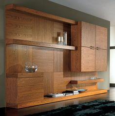 the sectional wooden storage tosai wall unit | tv walls