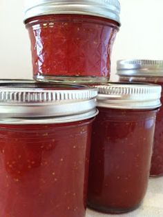 Canning Homemade!: Strawberry Margarita Jam Canning from Better Homes and Garden Magazine