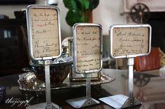 vintage display stands