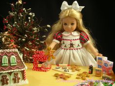 Christmas Cookies & Happy Hearts ~ Little Darling