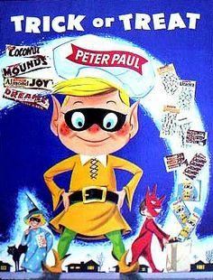 Peter Paul Halloween ad  c. 1958