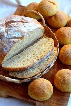 porkkanasoseleipä Bread Recipes, Graham, Rolls, Baking, Bread Rolls, Bakken, Bread, Backen
