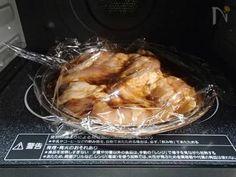 レンジにおまかせヘルシーメイン!レンジ加熱でもしっとり鶏むね肉になります。 煮汁はたっぷり鶏肉に浸しながらいただくのがオススメです。 ごはんとの相性も最高! 大人はラー油をかけてどうぞ。