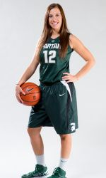 As a kid, athletes across the country dream of one day playing for their favorite team in college. For senior guard Tracy Nogle, that dream came true when she walked onto the Michigan State womens basketball team her freshman year. Growing up in Okemos, Nogle attended Michigan State camps and games, looking up to the girls on the team in hopes of one day being a Spartan. Now she is graduating after four years as a member of the Michigan State womens basketball program.