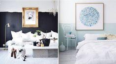 12 snygga bilder på halvmålade väggar