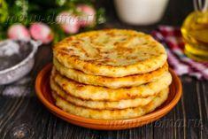 Хрустящие сырные лепешки с сочной начинкой всего за 15 минут