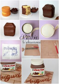 Cakes step by step #1: Nutella Cake - CakesDecor