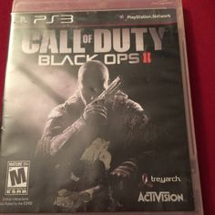 Call of duty. Black ops 2. PS3. PS3. Call of duty black ops 2. No scratches or dings. Case does have minimal damage but none to the disc. Other