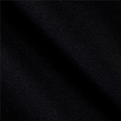 Kaufman Ventana Twill Solid Black from @fabricdotcom  From Kaufman Fabrics, this soft cotton twill fabric is medium/heavy weight and perfect for pants, jackets, skirts and dresses.