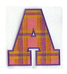 Buchstabe / Letter - A