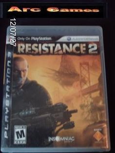 Resistance 2 PS3 Game Free First Class Shipping!