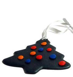 Custom Polymer Clay Christmas Ornaments
