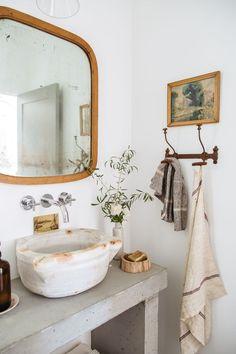 Modern Rustic Studio Bath - New Deko Sites Bad Inspiration, Bathroom Inspiration, Bathroom Ideas, Bathroom Goals, Bathroom Inspo, Bathroom Colors, Bath Ideas, Bathroom Organization, Design Your Home