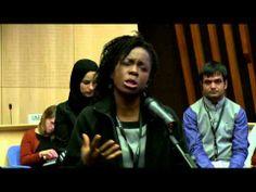 Society's Victim - Spoken word by Atilola Moronfolu in Geneva, Switzerland