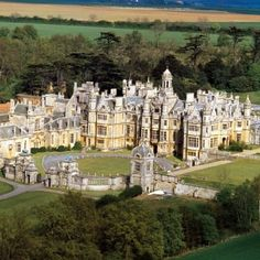 Harlaxton Manor. My home and school for my stay in Grantham, England. I leave August, 23rd (: