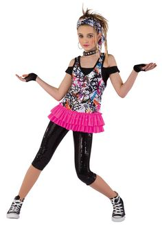 Costume Gallery Graffeti Dance Costume Size Large Child | eBay