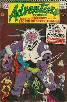 Superboy  Adventure Comics 353  DC Comic-1967  Good by trufflepig1