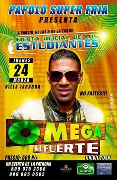 > Estudiantes #Jaraguenses con Omega El Fuerte donde Papolo Super Frías