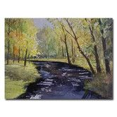 Found it at Wayfair - 'View From the Covered Bridge' by Ryan Radke Painting Print on Canvas